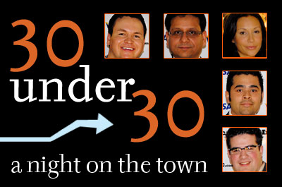30 Under 30: A Night on the Town