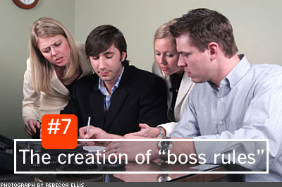 7 Signs That You're a Bad Boss
