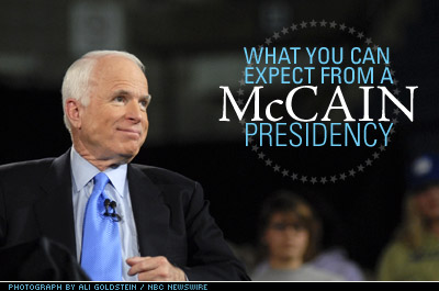 What You Can Expect from a McCain Presidency