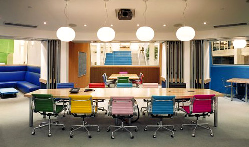 <p class='hname'> <a href='http://www.inc.com/ss/worlds-coolest-offices-2010/innovative-interiors'>Kirshenbaum Bond & Partners West</a> | <a href='http://www.inc.com/ss/worlds-coolest-offices-2010/innovative-interiors'>Jensen Architects</a> | San Francisco, California | Innovative Interiors </p>