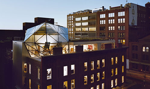 <p class='hname'><a href='http://www.inc.com/ss/worlds-coolest-offices-2010/innovative-functional-flagships'>DVF</a> | <a href='http://www.inc.com/ss/worlds-coolest-offices-2010/innovative-functional-flagships'>WORK Architecture</a> | New York City | Grand Flagship Headquarters</p>